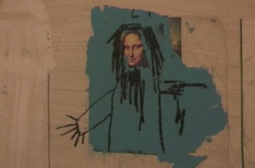 Basquiat ahuyentando fantasmas