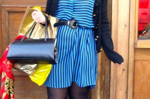 Azul y negro (Bricklane, Londres)