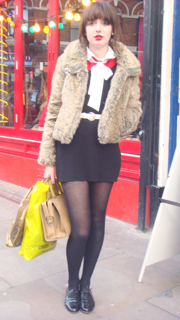 Chaqueta piel sintetica (London)