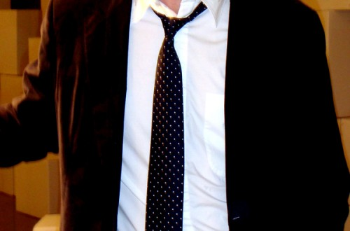 Corbata petit pois (Barcelona)