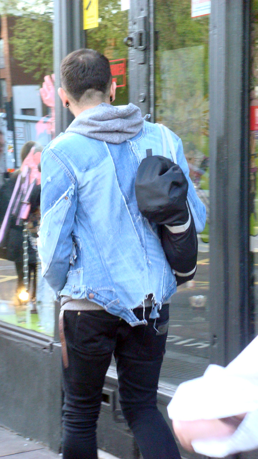 Destructured jean jacket (Camden)