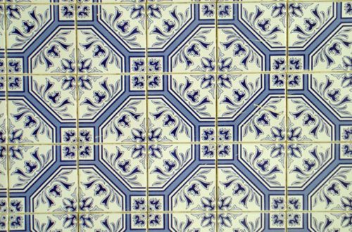 Glazed tile (Portugal, of course)
