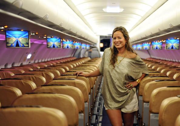 Jade Jagger Plane