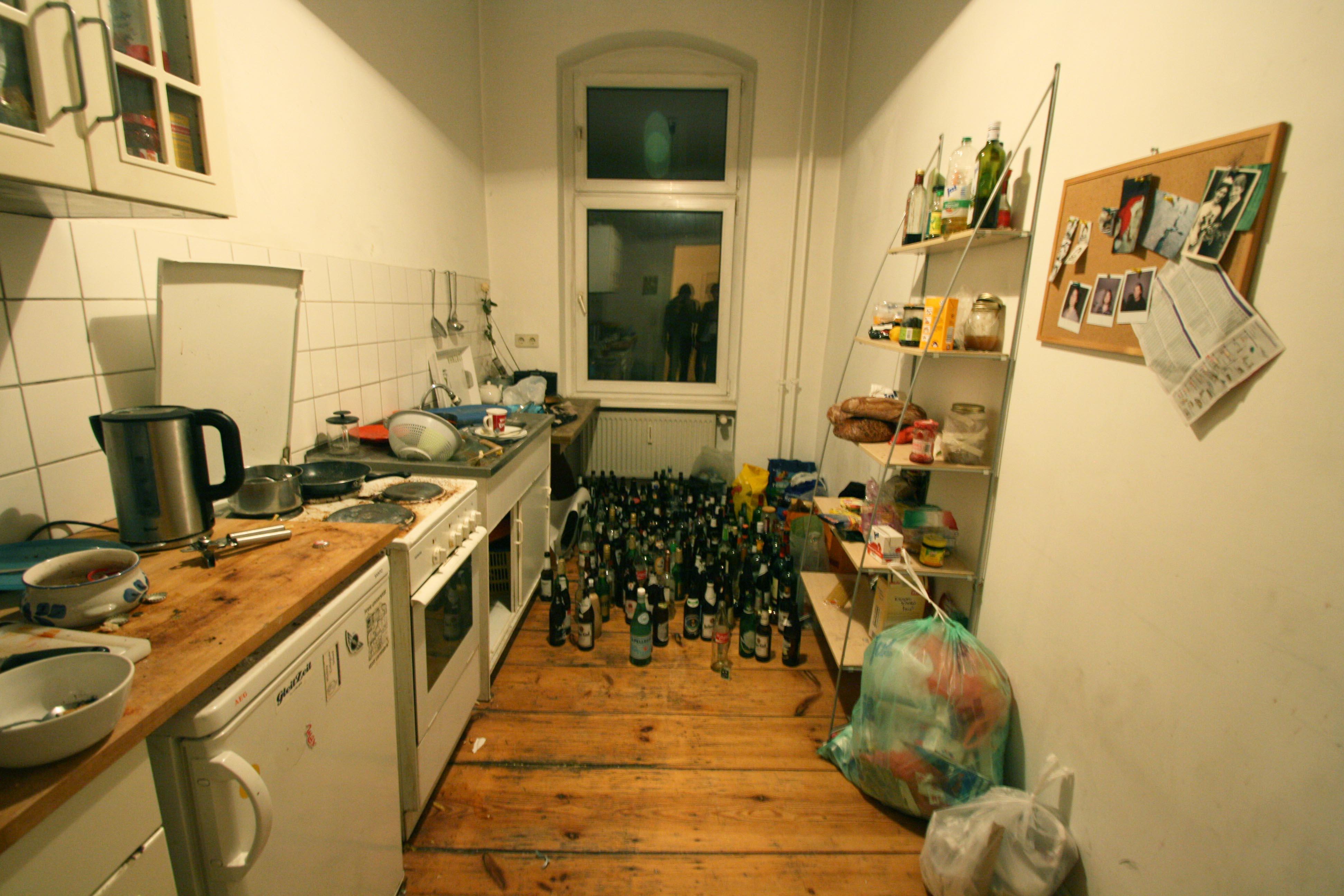 Beers in the kitchen (Berlin)