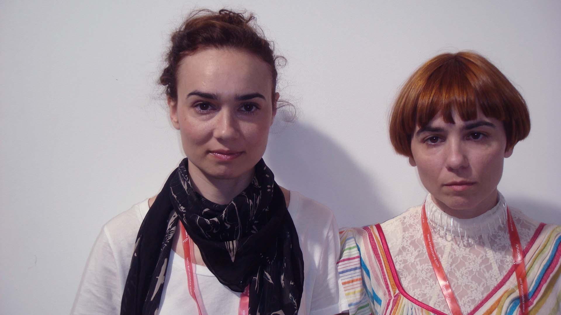 Xoanyu,  Yolanda y Rosana, (A Coruña)