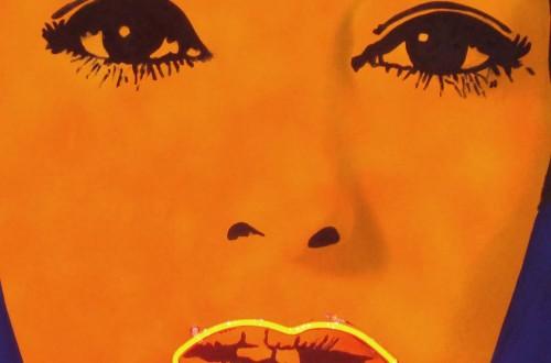 Electric lips (Frieze art)