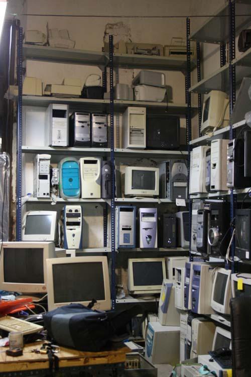 Technological rubbish? (Madrid)