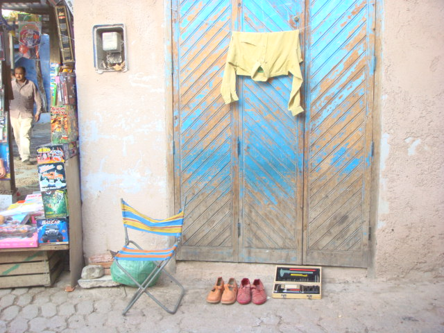 Mercadillo urbano (Fes, Moroco)