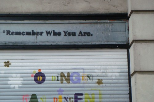 Remember who you are (Antwerpen)