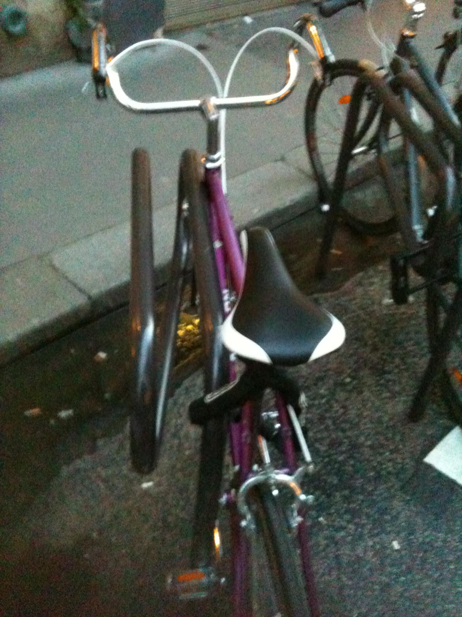 Bici park (Les Marais, Paris)