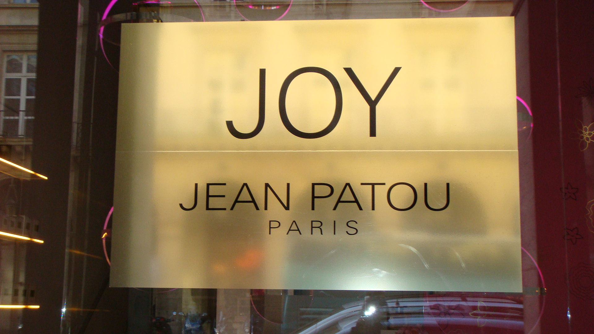 Joy (Jean Patou, Paris)