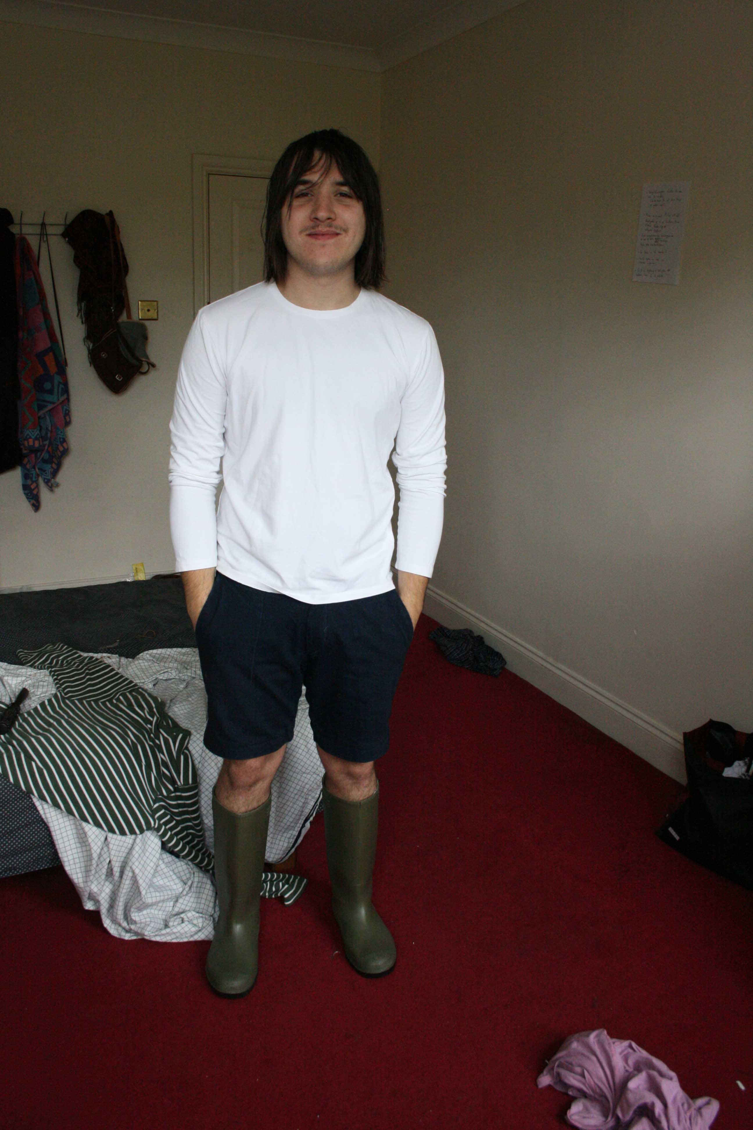 Rain on the bedroom (London)