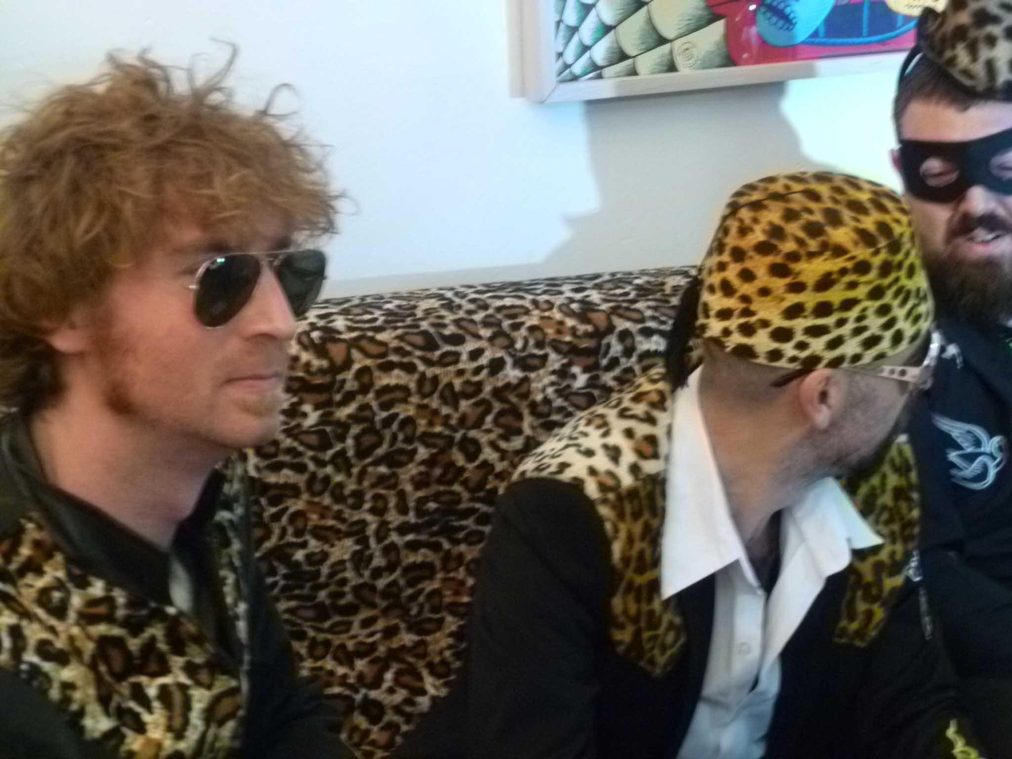 Leopard hats (Barcelona)