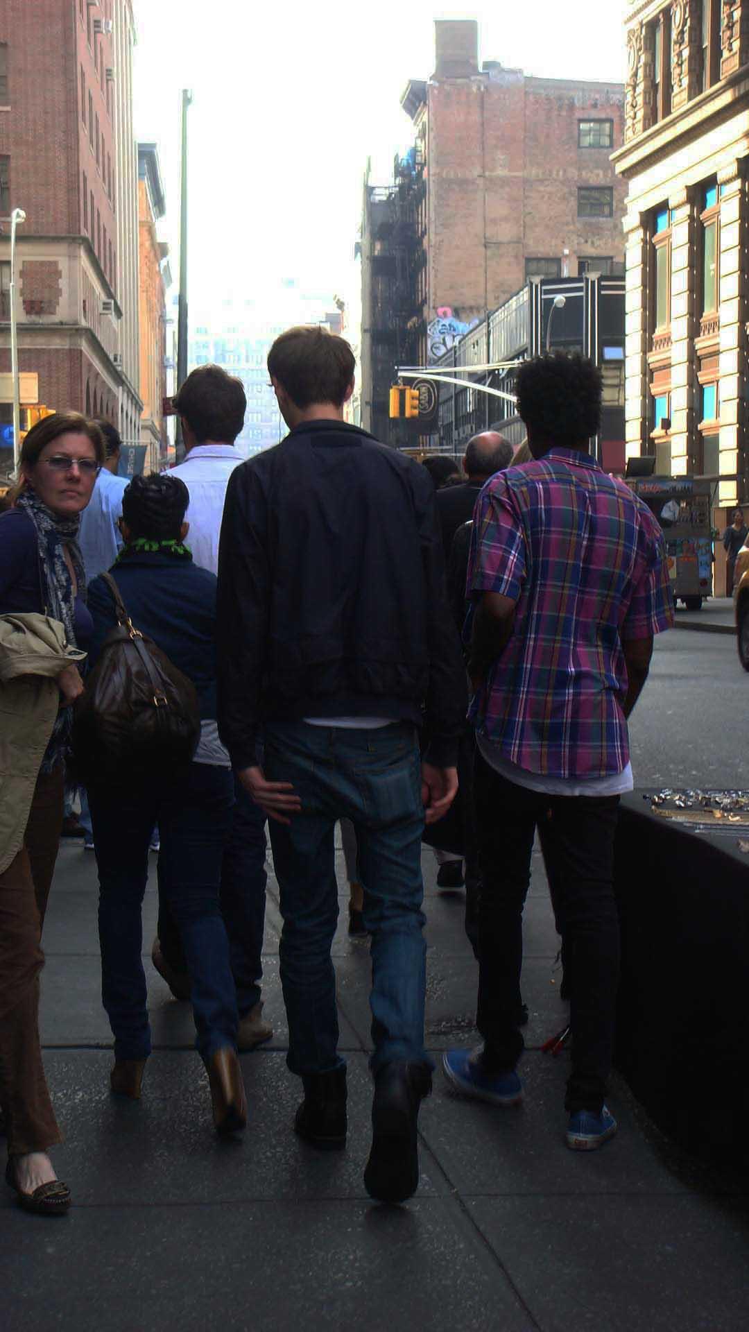 walking (NYC)