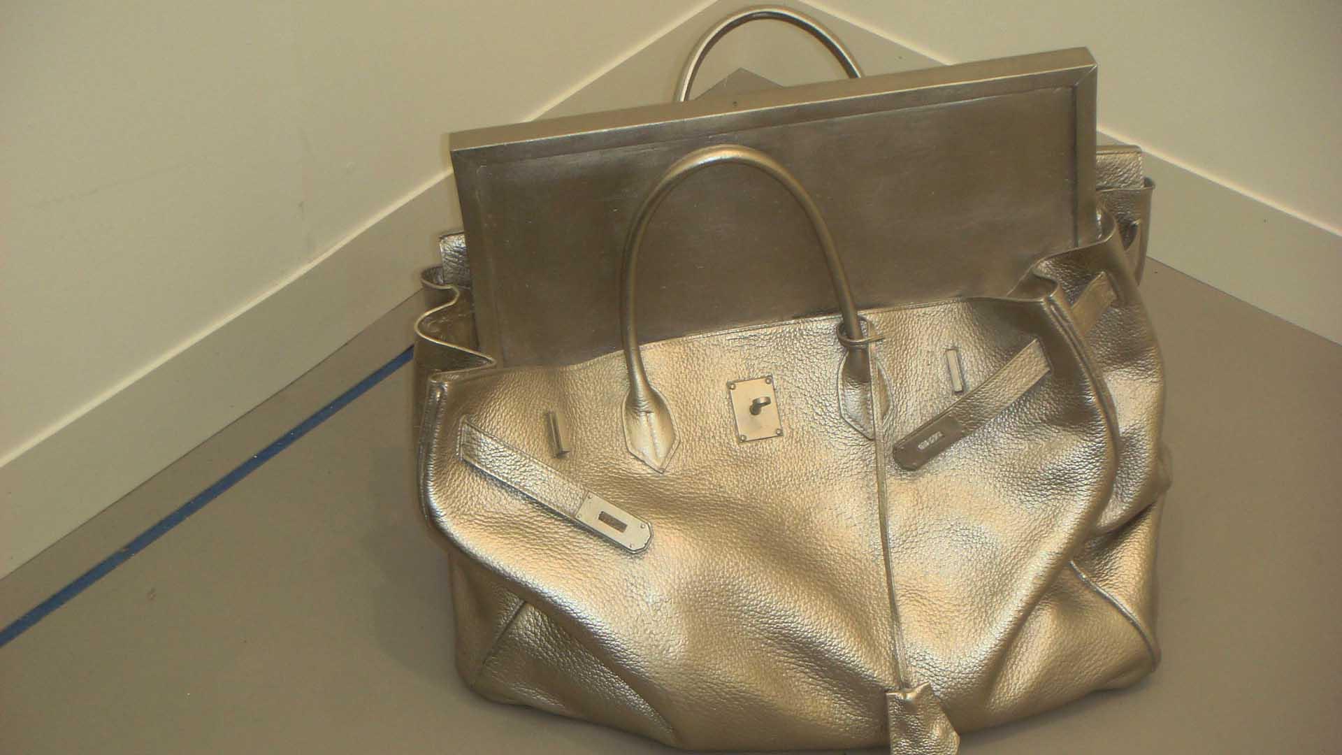 Silver bag (London)