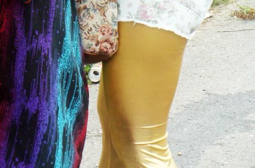 Bright leggins + shorts (Pferdefest, Bernkastel)
