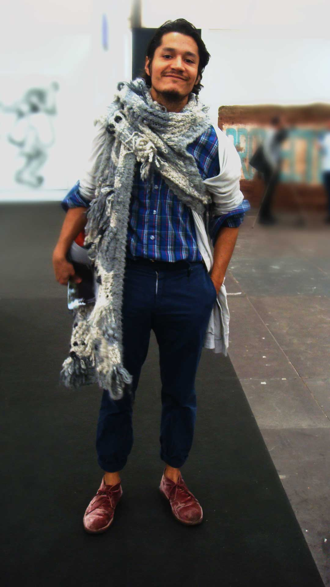 Amazing scarf (London)