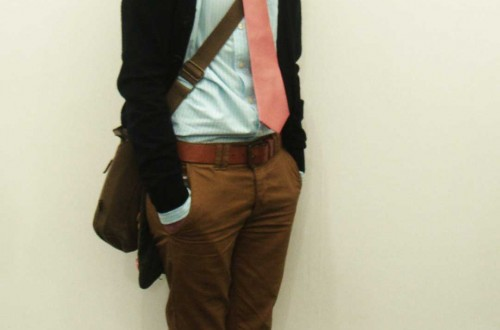 Bright tie (London)