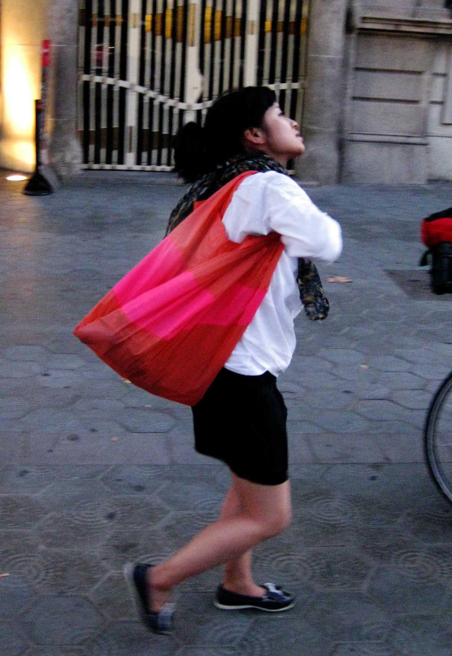 Le sac (Bcn)