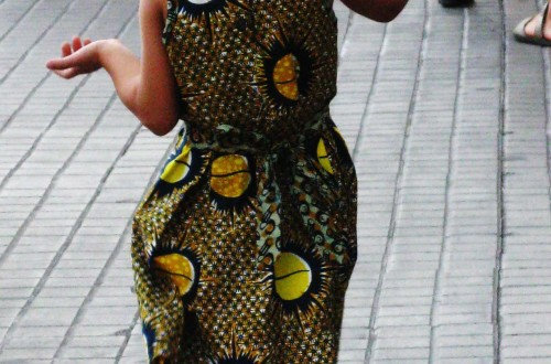 African Fashion girl (Bcn)