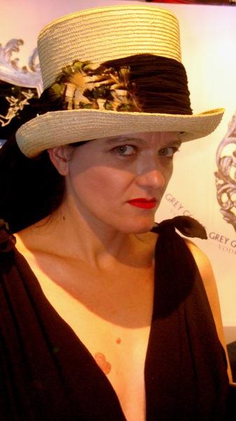 Sombrero de copa -de paja- (Cibeles)