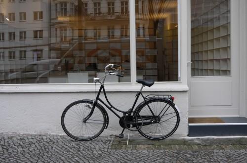 Bicis vistas en Berlin
