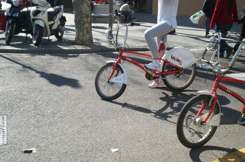 Style on bike (Bcn)