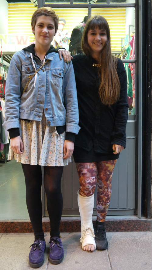 Aida y Krizia (Barcelona)