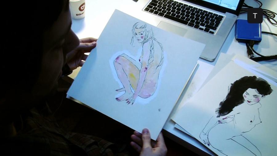 Las musas del ilustrador Conrad Roset