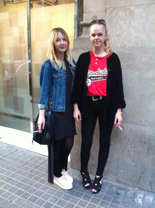Street girls (Barcelona)