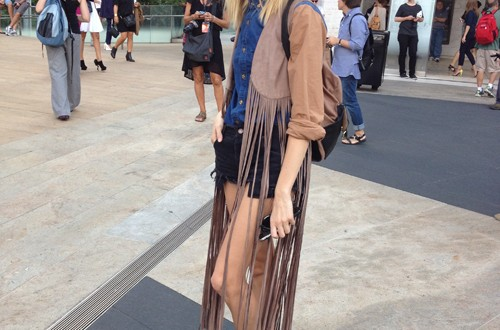 Cute girl (New York Fashion Week)