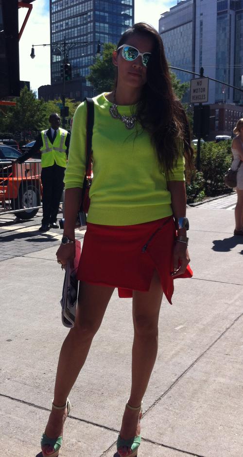 Love your skirt (New York)