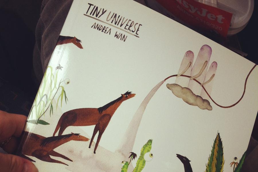 Tiny universe… (Berlin)