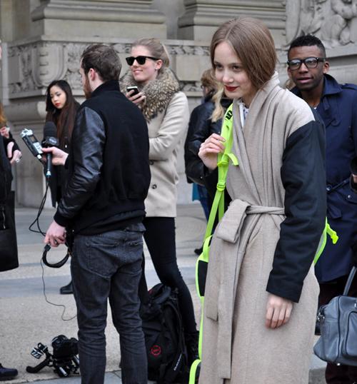 Street calling (París)
