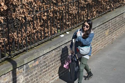 Taking a walk (London)