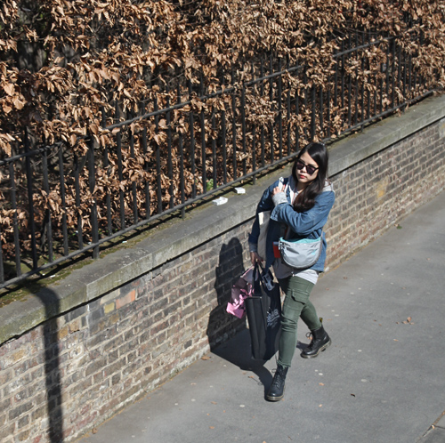 Taking a walk (London)