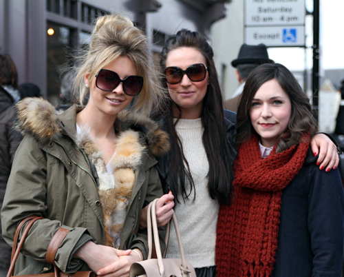Tres inglesas (London)