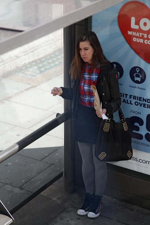 Bus stop (London)