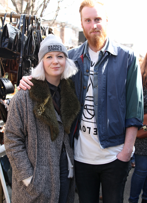 Hipster couple  (London)