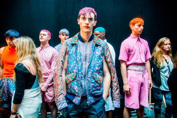 Christopher Shannon en la London Fashion Week