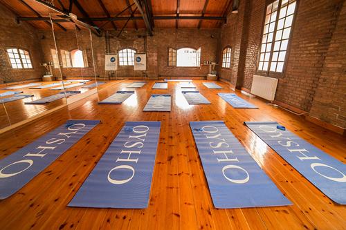 Yoga con Oysho