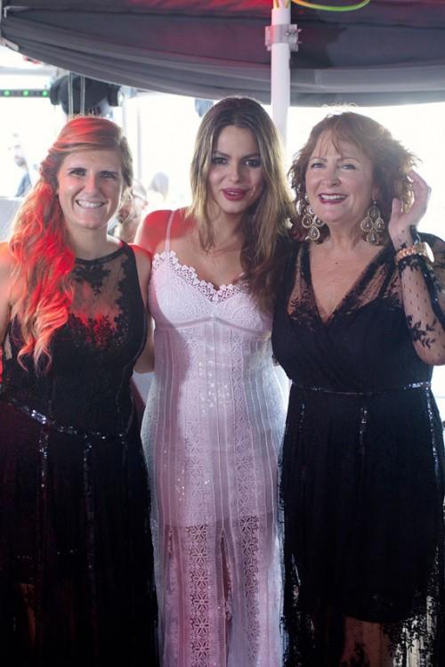Paloma Recoder, Marisa Jara y Charo Ruiz_CharoRuiz Ibiza presentación 2014