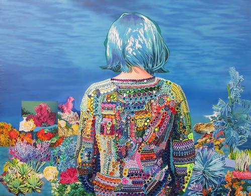 carlota-clavell-debajo-del-agua-oil-on-canvas-114x145cm-45x60inches-2013