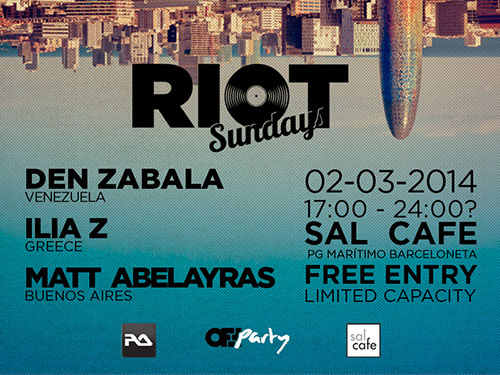 cartel riot domingo 2
