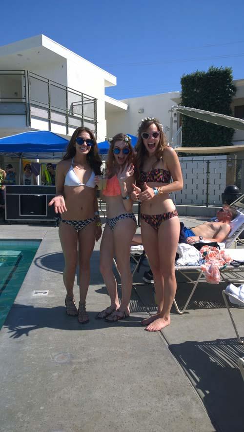 Pool party (Coachella)