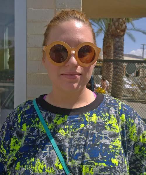 Gafas redondas (Coachella)