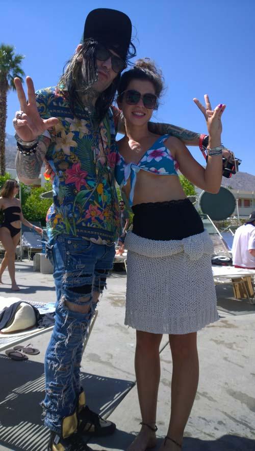 Peace out (Coachella)