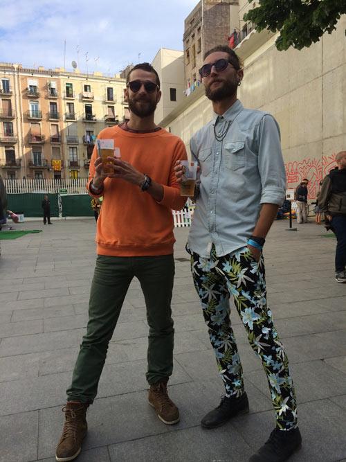 Pantalones floreados (Brunch Electronik #2)