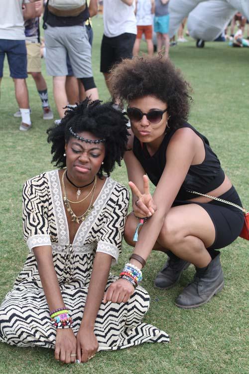 El afro siempre mola (Coachella)
