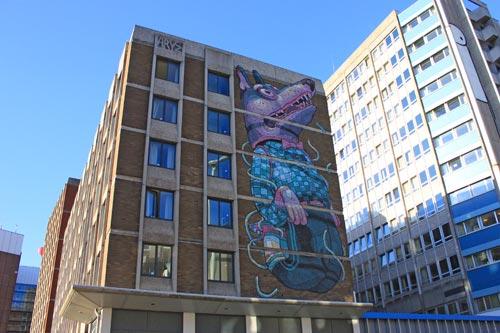 Bristol, ciudad de graffitis